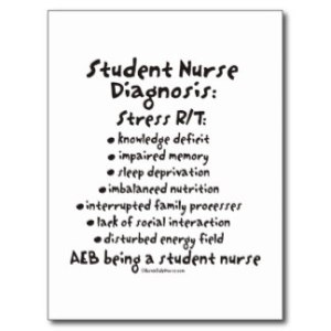 The feeling of many a student nurse...