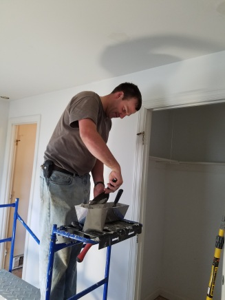 patching spots on the ceiling