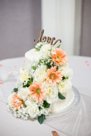 Simple, elegant cake...designed by Wendy