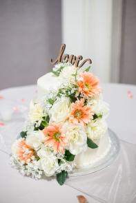 Simple, elegant cake...designed by Wendy